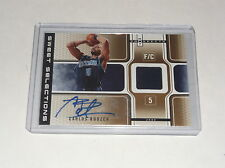 2006-07 HOT PROSPECTS CARLOS BOOZER SWEET SELECTIONS AUTO JERSEY GOLD SP #D 3/25