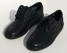THOROGOOD Weinbrenner Black Leather Men's Work Shoes 8 M USPS certified Code 3s