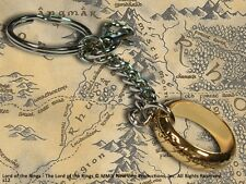 Lord of the Rings The One Ring Keychain Gift Key Ring - A Truly Precious thing