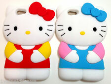 2 X Hello Kitty iPhone 5 Case Cover Multicolor S-3 Great Gift **US SELLER**