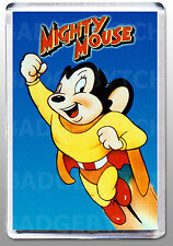 MIGHTY MOUSE LARGE fridge magnet - CLASSIC!