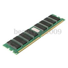 Memoria RAM 1GB DDR1 400 MHZ PC3200 Non-ECC Low Density Desktop PC DIMM 184 pins