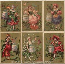 Chromo Liebig Sang. 133 ITA Fiori Donne I ANNO 1883/85