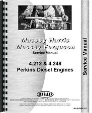 Massey Ferguson 382 383 390 UK 4 Cylinder Engine Service Manual (MH-S-ENG4.212)