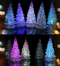 New LED Lamp Light Crystal Decoration Home Party Gift Decor Xmas Christmas Tree