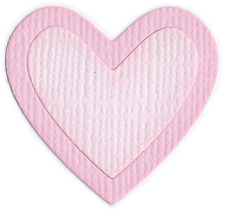 QuicKutz Lifestyle Crafts 2x2 Single Die HEART Outline,Valentines,Love, RS-0616