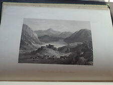 ROB ROY Six Engravings In Illustrations : Scottish / History / Military / 1868