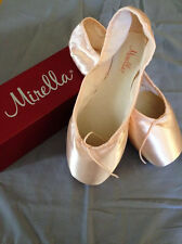 Mirella Advanced Ms101a Pointe Ballet Shoes Pink, Sz 7, 2x Nib Orig. $80