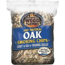 OAK WOOD CHIPS BBQ SMOKER FLAVOR WOOD CHIPS BARBAQUE MM MM GOOD