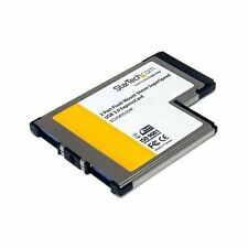 StarTech.com 2 Port Flush Mount ExpressCard 54mm SuperSpeed USB 3.0 Card Adapter