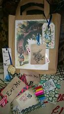 Alice in wonderland mad hatter filled party favour bags for parties & weddings