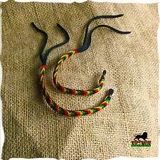 Lot Of 2 Rasta Friendship Twisted Wrist Bracelet Reggae  Hobo Peace Festival RGY
