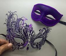 New Couple Lover Masquerade Mask Party Mask Purple Men & Women Halloween Mask