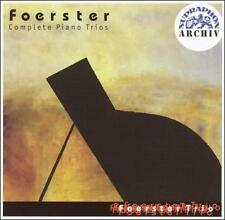 Foerster: Complete Piano Trios, New Music