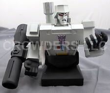 "Rare Hard Hero Transformers MEGATRON Statue 6"" Painted Porcelain Bust #2250 '01"