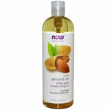 Sweet Almond Oil 100% Pure for Clean Skin 16oz by NOW Solutions Free Shipping