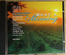 What A Morning cd The Drinkards/George Beverly Shea/Virgil Fox/Paul Mickelson