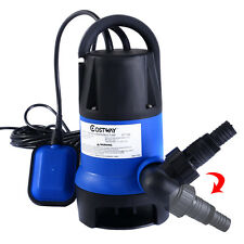 1/2HP Submersible Dirty Clean Water Pump Flooding Pool Garden Tool Swimming Pool