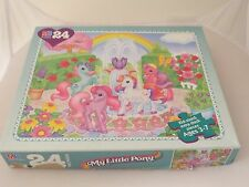 Vintage 1997 My Little Pony MLP 24 Piece Jigsaw Puzzle