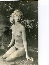 Photo femme nue nu vintage année 60 argentique (A08235) Livraison gratuite