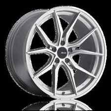17x7.5 Advanti Racing Hybris 5x114.3 ET45 Machine Face Silver Wheels (Set of 4)