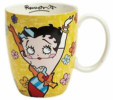 Betty Boop by Romero Britto Giallo Tazza Di Ceramica tazza 10.5cm 4046460