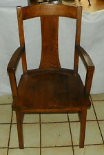 Quartersawn Oak Armchair / Chair by Crocker  (BM-AC176)