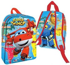 MOCHILA SUPER WINGS Sac à Dos BACKPACK Zaino RUCKSACK дети рюкзак RUKSAK 32 x 25