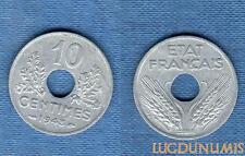 Etats Français, 1940 – 1944 – 10 Centimes grand module 1943 SUP ++++