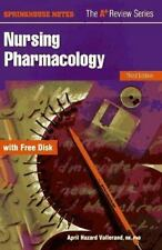 Nursing Pharmacology (Book with Diskette)