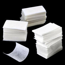 400pcs Acrylic UV Gel Tips Cotton Nail Polish Remover Cleaner Wipes Lint Free