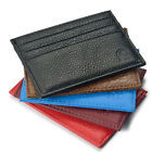 Men Slim Credit Card Holder PU Leather Wallet Coin Pocket Money Bag Purse