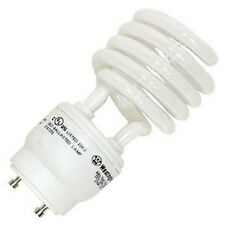 (6) 23 Watt =100W Cool White CFL Compact Fluorescent Light Bulb Spiral GU24 Base