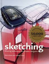 Sketching : Drawing Techniques for Product Designers by Koos Eissen and...