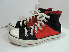 Converse Trainers Sneakers Shoes UK 5 - RED AND BLACK -All Star / Chuck Taylor