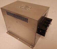 Soshin Electric Co. EMI Filter HF3050C-TM 500VAC 50A 50/60Hz USED