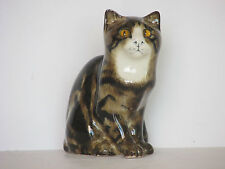 Winstanley Mike Hinton Seated Tabby Cat Ornament or Figurine
