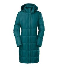 NEW The North Face Women's Miss Metro Parka Large Teal Down Jacket