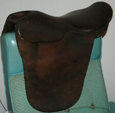 "ENGLISH RIDING SADDLE 21"" EQUESTRIAN HORSE JUMPING ARGENTINA LEATHER"