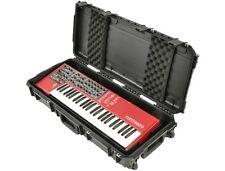 """SKB 3I-3614-KBD 34"""" Injection Molded Waterproof 49 Note Keyboard Case 3I3614KBD"""