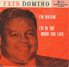 "7"" - Fats Domino - I´m Walkin / I´m In The Mood For Love - Imperial X5428"