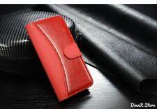 GUSCIO per cellulare per Apple iPhone 6s Guscio Borsa Case Wallet-Rosso (21ro)