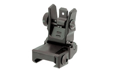 Leapers UTG MNT-955 Low Profile Flip-up Slim Rear Sight BUIS Dual Aperture NEW