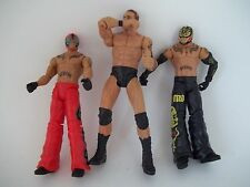 Lot of 3 wrestlers