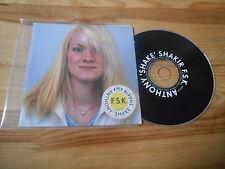 CD Indie F.S.K.  Anthony Shake Shakir - First Take Then Shake (11 Song) DISKO B