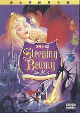 Sleeping Beauty 1959 All Region DVD Mary Costa, Bill Shirley, Eleanor NEW UK R2