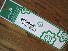 NEW Girl Scout 100th Anniversary STICKER Scrapbooking Leader Scout Gift