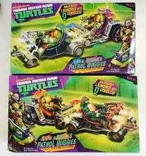 "PLAYMATES CLASSIC Teenage Mutant NINJA TURTLE "" PATROL BUGGIES "" Set of 2"