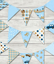 FABULOUS BUNTING - PLAY ROOM / BEDROOM / NURSERY/ NEW BABY CHILDREN'S BABY BOY