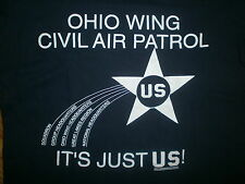 OHIO WING CIVIL AIR PATROL T SHIRT vtg Squadron CAP Great Lakes Region Air Force